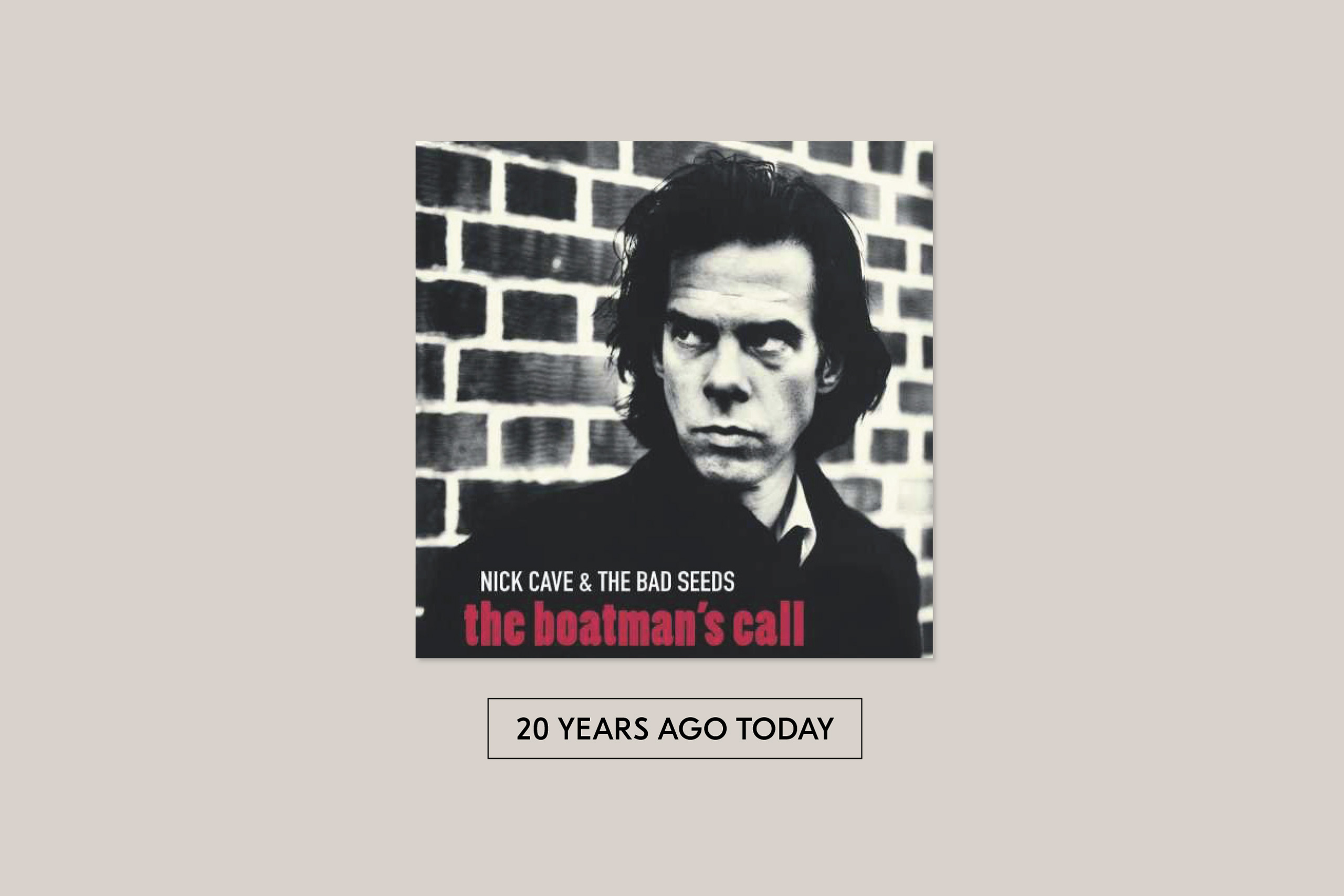Open Letter To Nick Cave